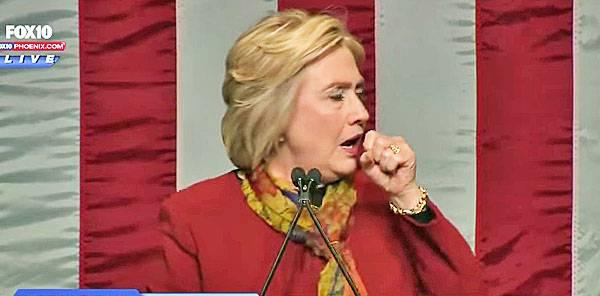 Здравни проблеми предизвикват спад в шансовете на Хилари Клинтън