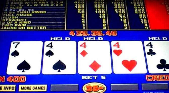 Видео покер правила