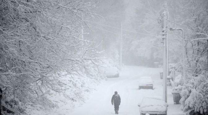 Коефициентите за бяла Коледа във Великобритания паднаха драстично