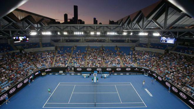 Хазартните реклами са свалени от Australian Open