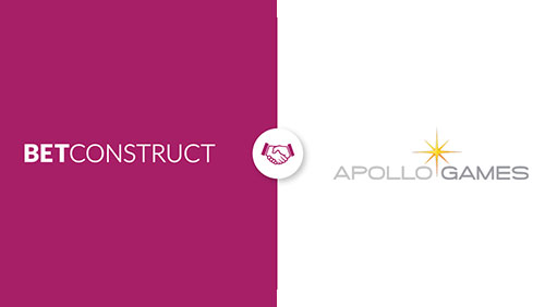 BetConstruct интегрира Apollo Games в Casino Suite